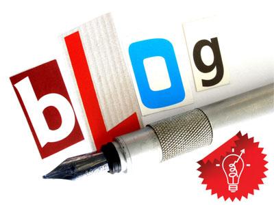 Как писать в блог? Надпись блог и ручка, перо, перьевая ручка