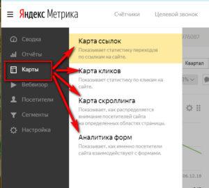Карты Яндекс.Метрики